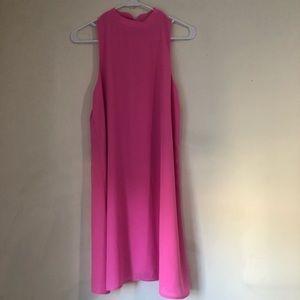 MOD CLOTH- Everly- Pink Shift Dress